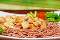 pasta with chicken meat - PhotoDune Item for Sale