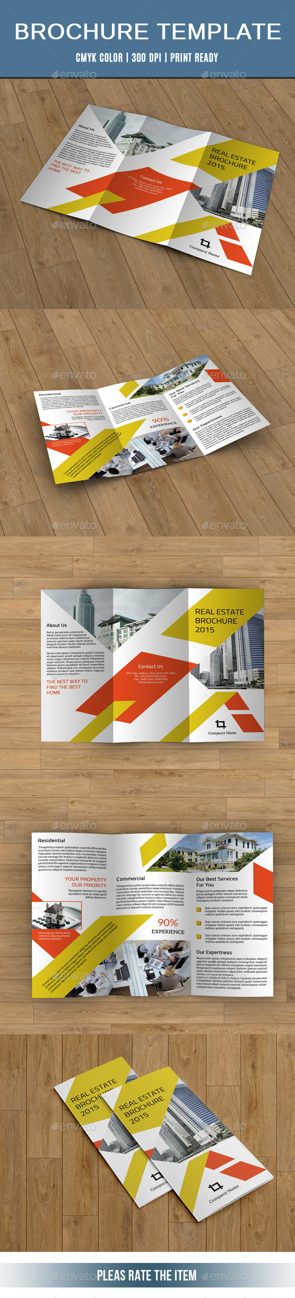 GraphicRiver Trifold Business Brochure-V226 10701236