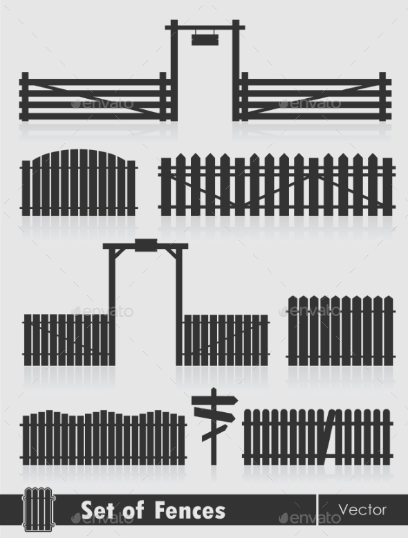 GraphicRiver Fences 10701535