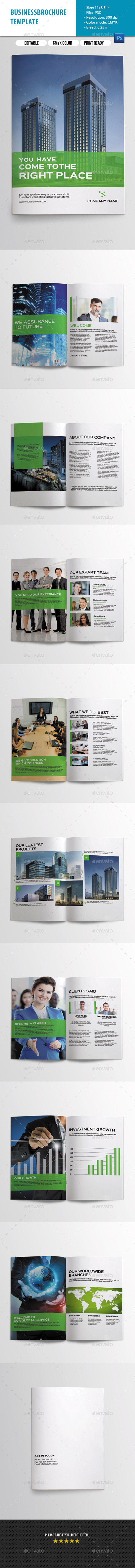 GraphicRiver Corporate Brochure-V227 10701607