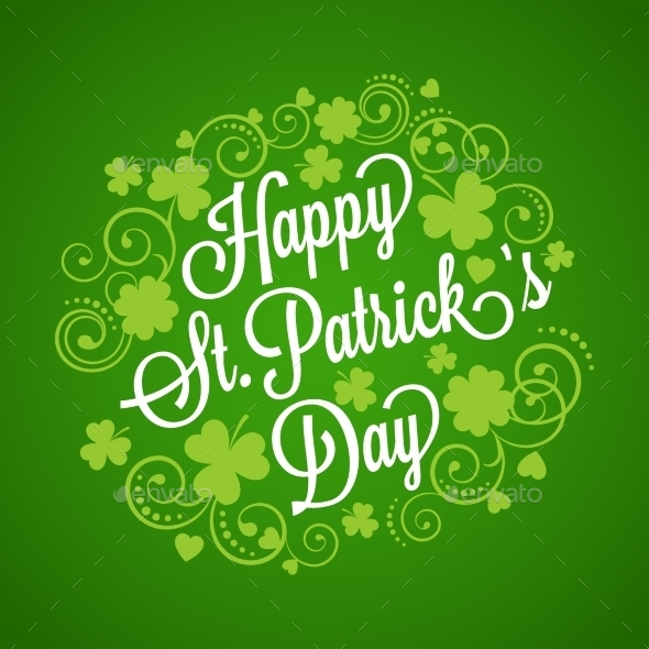 GraphicRiver St Patrick s Card 10701665