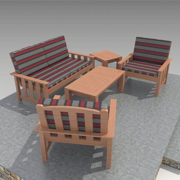 3DOcean Outdoor Furniture-3 10702203