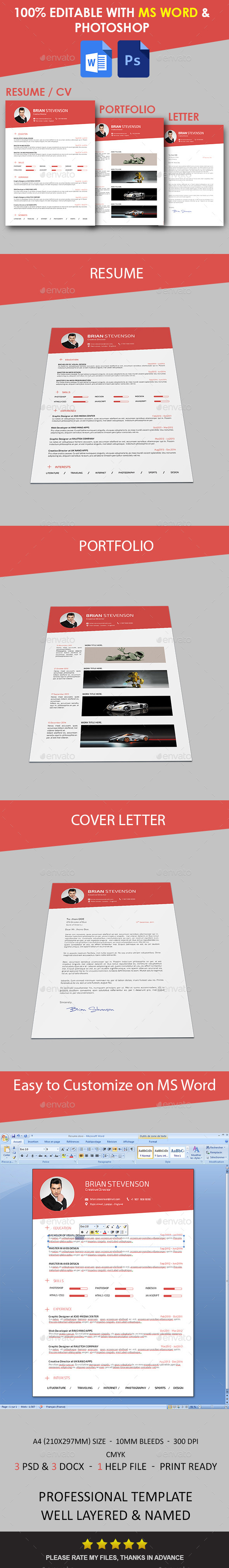 GraphicRiver Resume 10702283