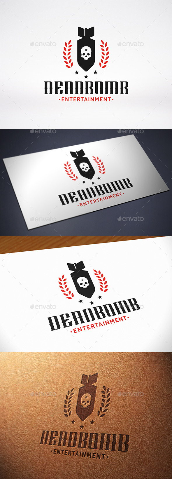 GraphicRiver Military Bomb Logo Template 10702288