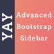 Yay - Advanced Sidebar for Bootstrap