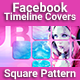 Facebook Timeline Covers - Square Pattern - GraphicRiver Item for Sale