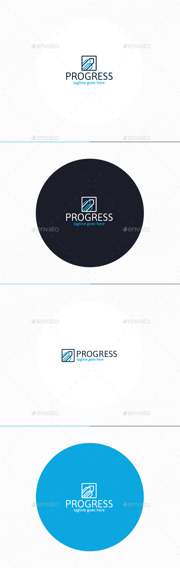 GraphicRiver Progress Logo 10703265