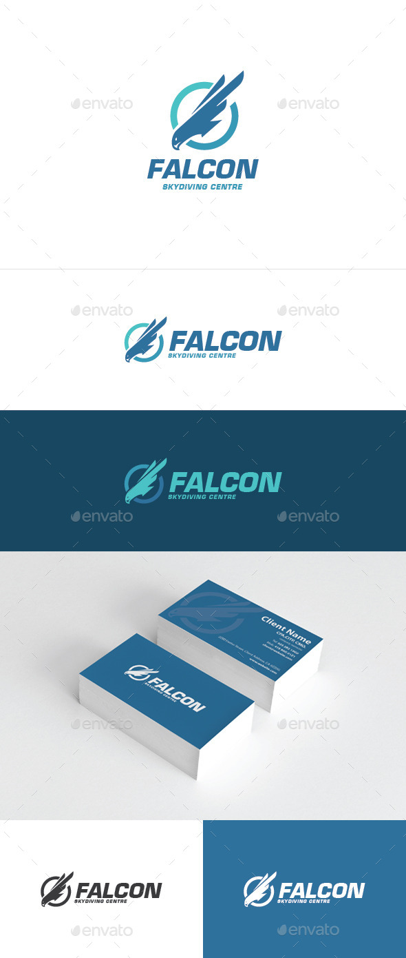 GraphicRiver Falcon Logo 10703308