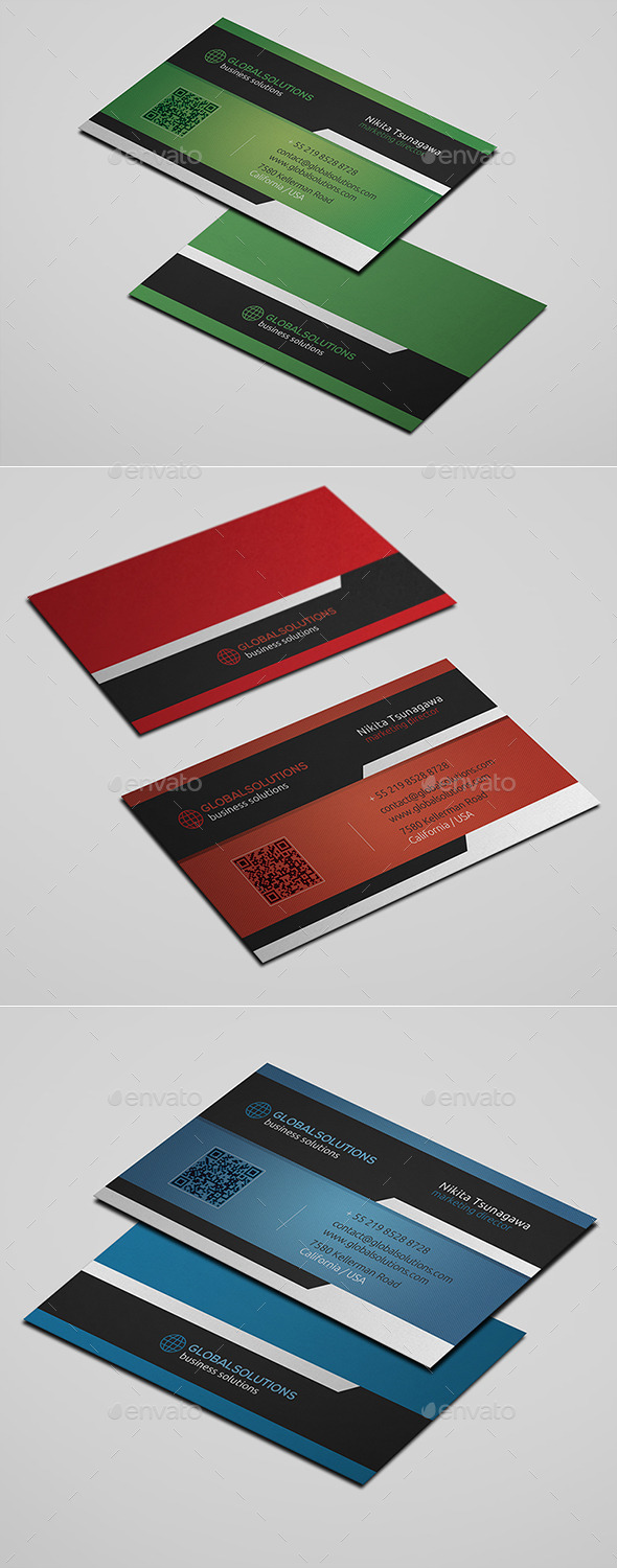 GraphicRiver Corporate Business Card 14 10703326