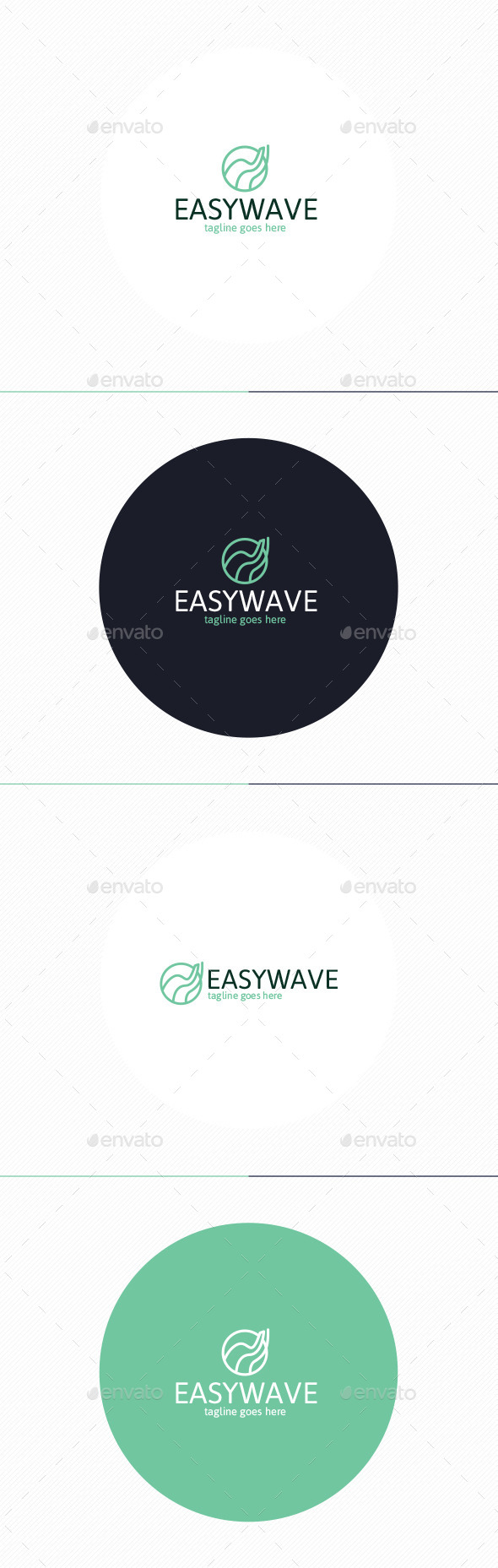 GraphicRiver Easy Wave Logo 10703383