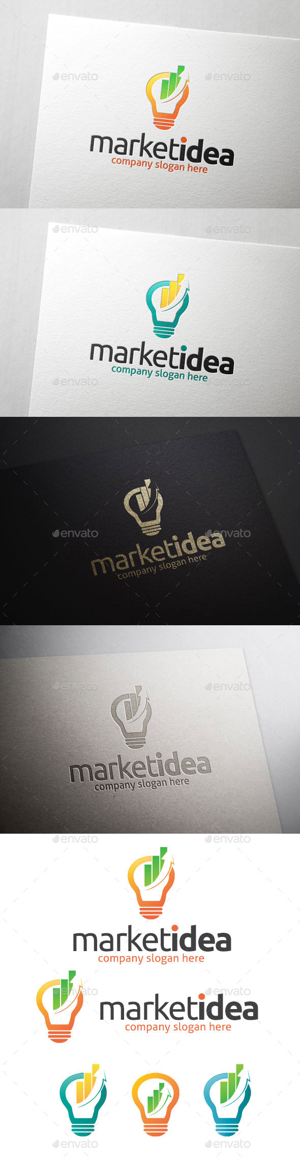 GraphicRiver Market Idea Logo Template 10703394