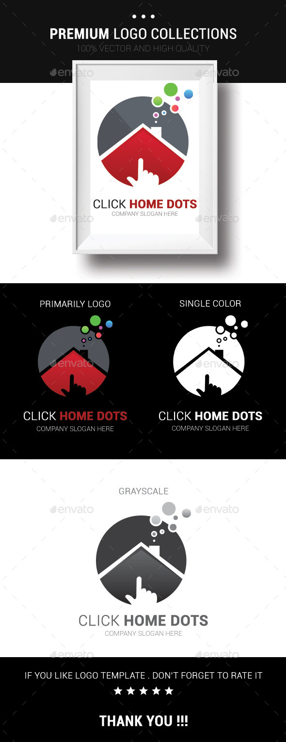 GraphicRiver Click Home Dots 10703476