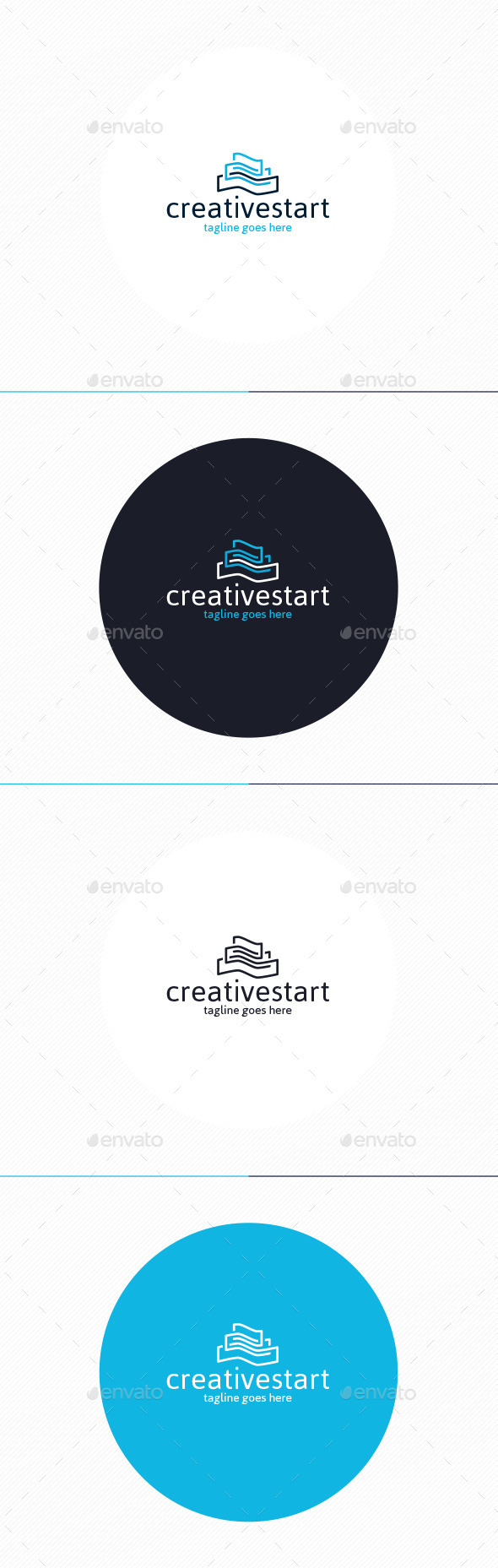 GraphicRiver Creative Start Logo 10703558