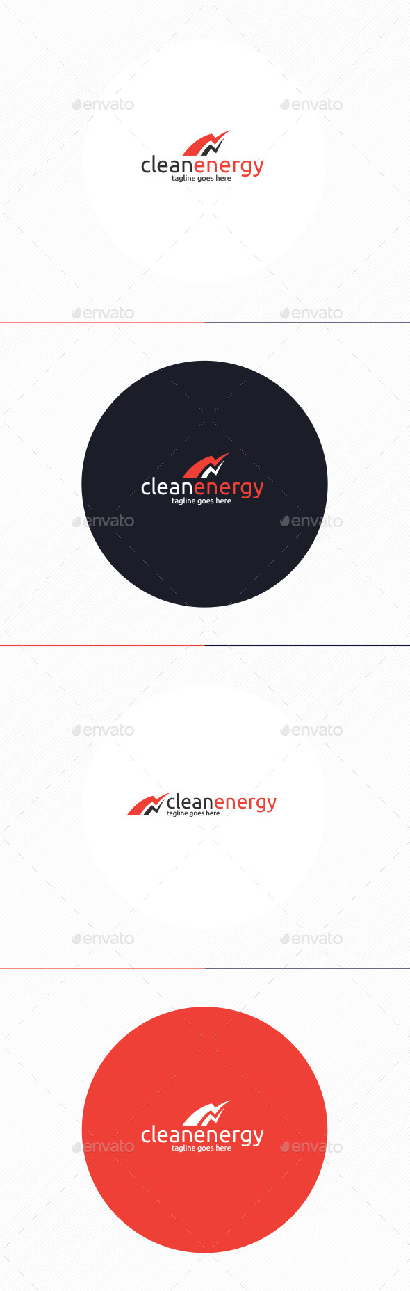GraphicRiver Clean Energy Logo 10703610