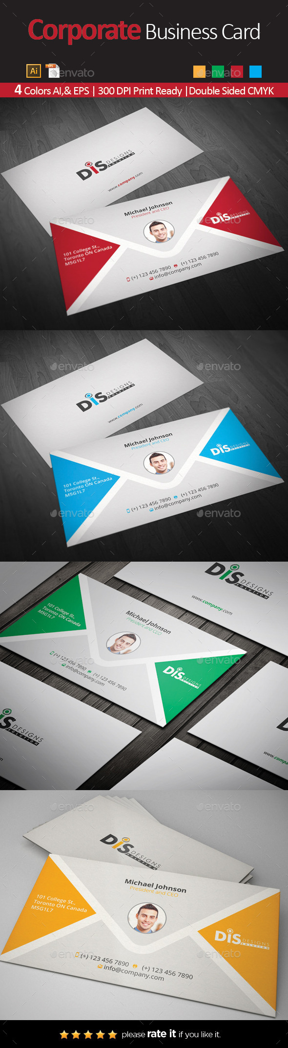 GraphicRiver Business Card 10703858