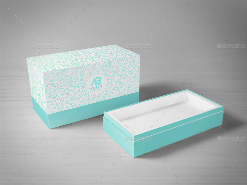 Package box mockups vol8 by wutip graphicriver