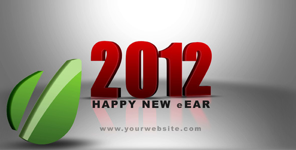 After Effects Project - VideoHive Happy New Year Animated Logo 1077235