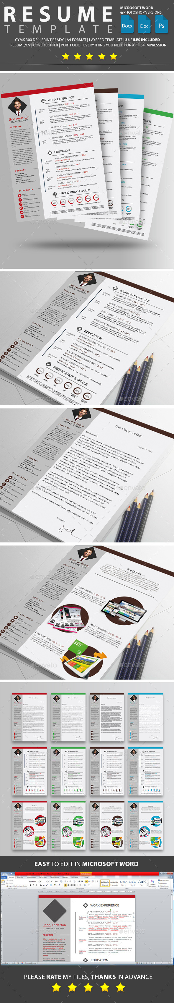 GraphicRiver Resume 10705599