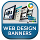 Web Design Company Banners - GraphicRiver Item for Sale