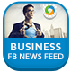 Facebook News Feed Banners - 10 Designs - GraphicRiver Item for Sale
