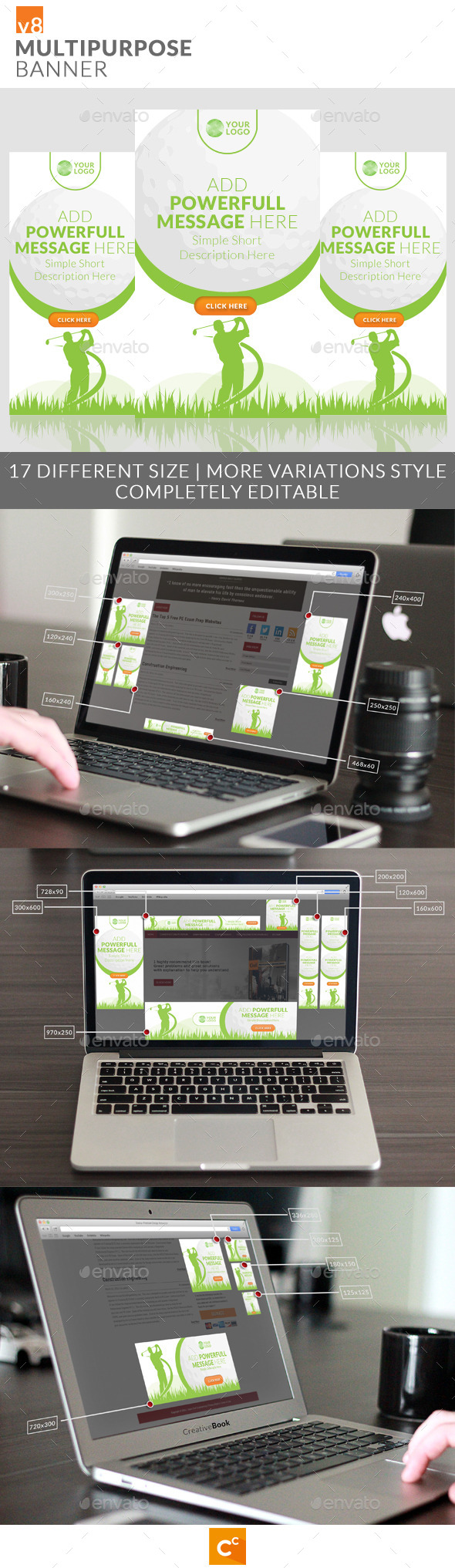 GraphicRiver Multipurpose Banner Ads v8 10706930