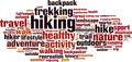 Hiking Word Cloud Concept - PhotoDune Item for Sale