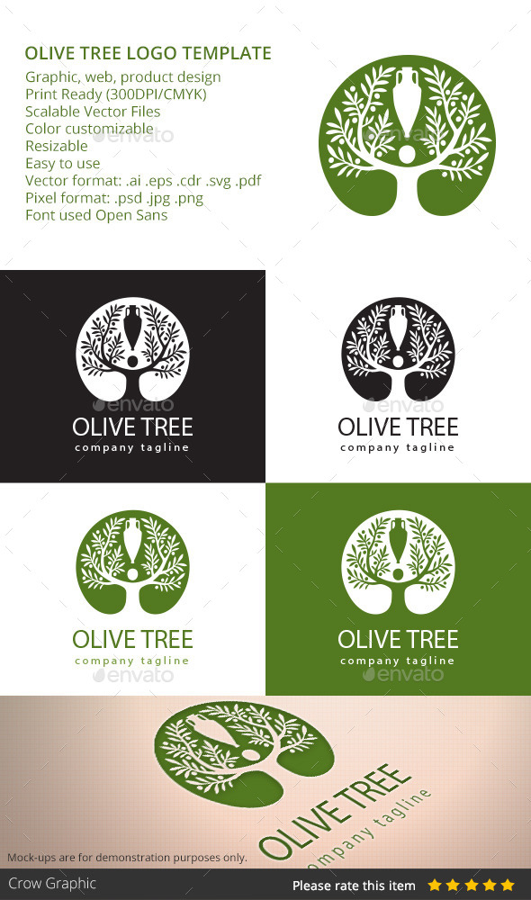 GraphicRiver Olive Tree 10638887