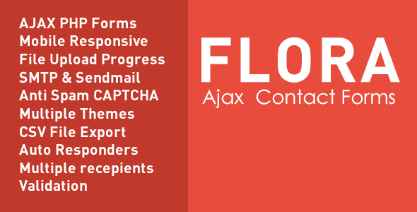 CodeCanyon Flora Forms Responsive Ajax Contact Forms 10707361