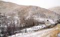 Fresh Snow Blankets Hillside Rural Country Scene Forgotten Ranch - PhotoDune Item for Sale