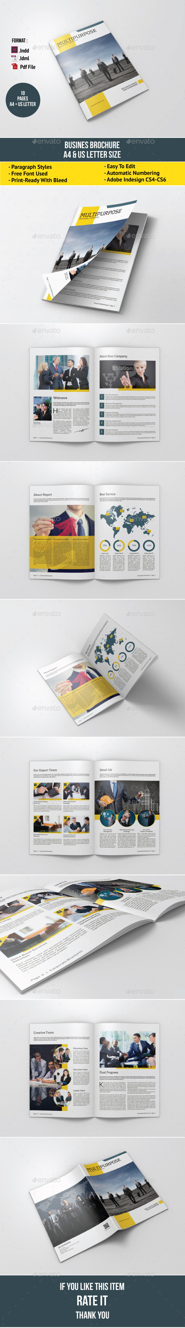 GraphicRiver Business Brochure Template 10713369