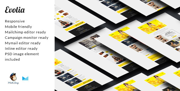 ThemeForest Evolia Email eCommerce Newsletter 10647949