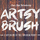 Artsy Brush Font - GraphicRiver Item for Sale