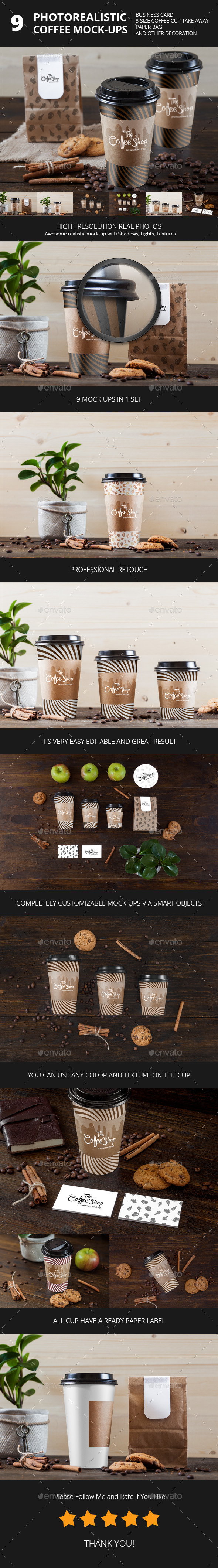 GraphicRiver Coffee cup branding mock-up s 10713731