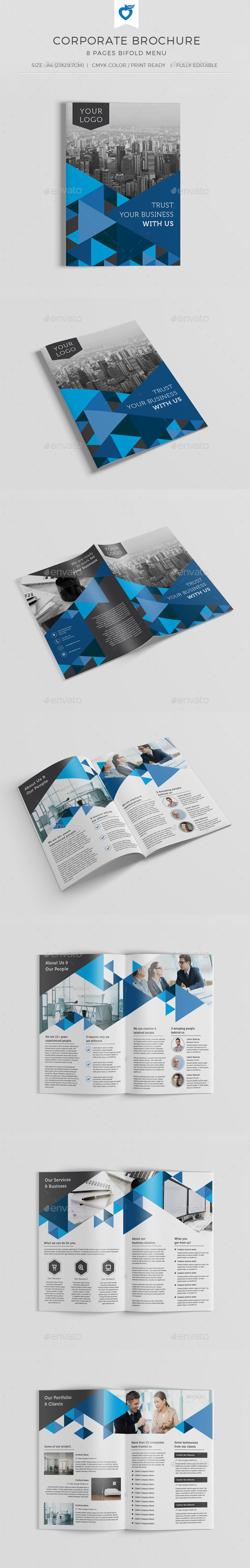 GraphicRiver Corporate Brochure 10714106