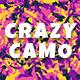 Crazy Camo - GraphicRiver Item for Sale