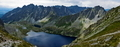 View of the lake in the valley of the eye and the Black Sea pond in Polish mountains, Tatras - PhotoDune Item for Sale