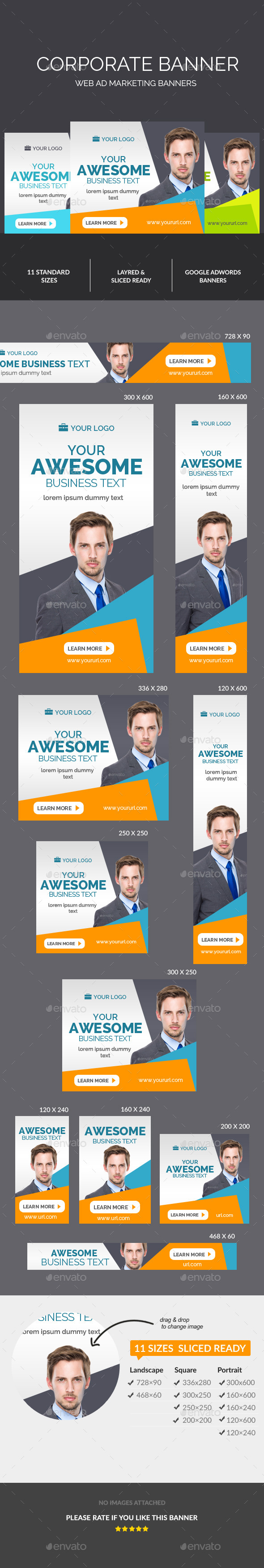 GraphicRiver Corporate Ad Banners 10714573