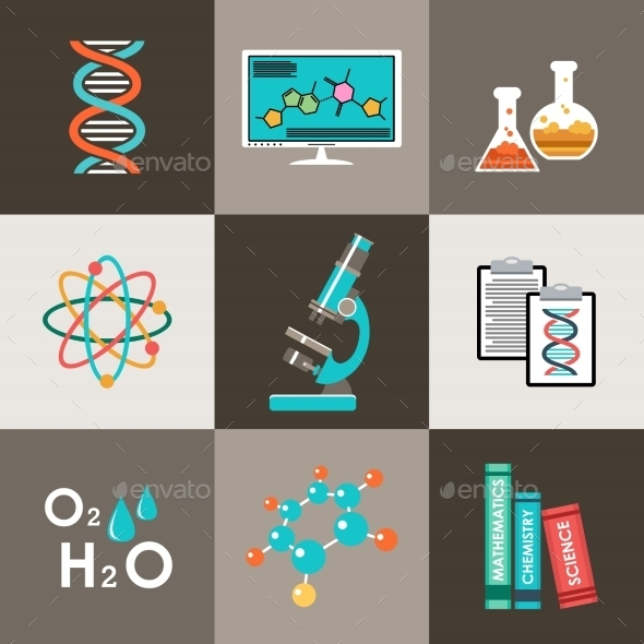 GraphicRiver Science Set 10714583