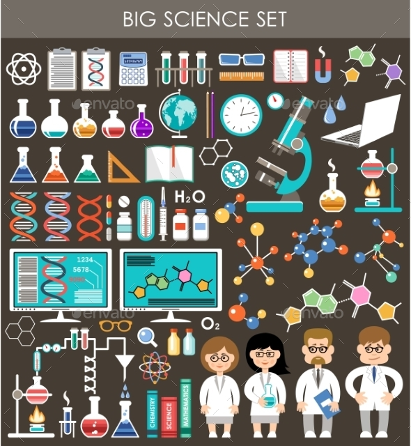 GraphicRiver Science Set 10714595
