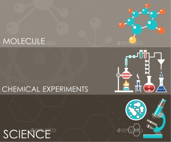 GraphicRiver Three Science Banners 10714602