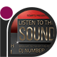 Club Party Flyer - Listen To This Sound - GraphicRiver Item for Sale