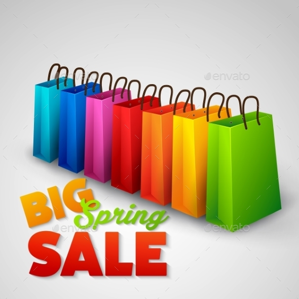 GraphicRiver Big Spring Sale Poster 10714879