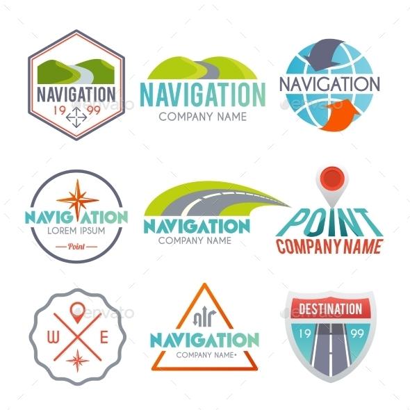 GraphicRiver Navigation Label Set 10714898