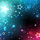 Bright Background with Stars - GraphicRiver Item for Sale