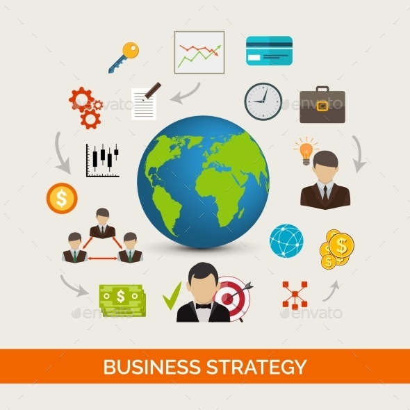 GraphicRiver Business Strategy Concept 10715356