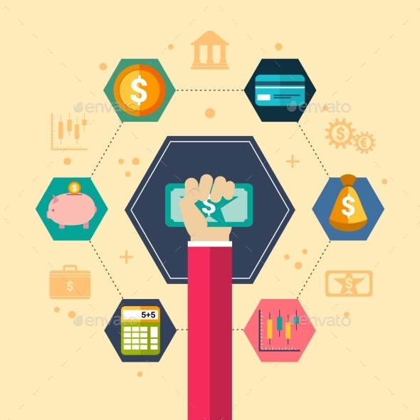 GraphicRiver Financial Concept Illustration 10715367