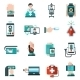 Digital Medicine Icons - GraphicRiver Item for Sale