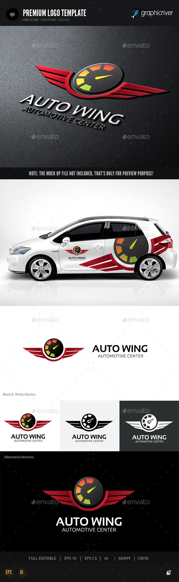 GraphicRiver Auto Wing 10715574