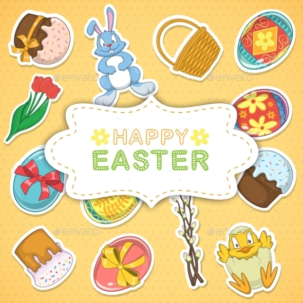GraphicRiver Easter Background 10715580
