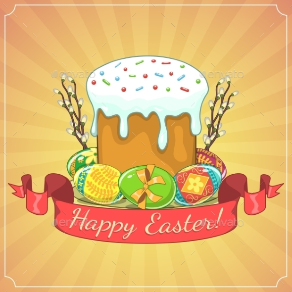 GraphicRiver Easter Background 10715583